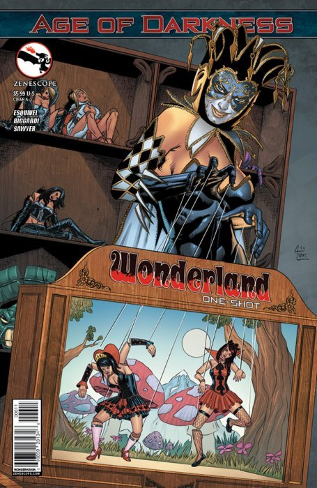 Wonderland #5 Grimm Fairy Tales Presents ~ Zenescope comic 5B cover