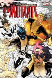 Marvel Comics's Color Your Own X-Men: The New Mutants Soft Cover # 1