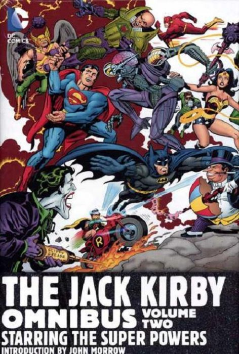 Jack Kirby  Omnibus Hard Cover 2  DC Comics  ComicBookRealm comJack Kirby Cover