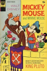 Gold Key's Mickey Mouse Issue # 134whitman