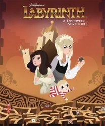 Archaia Studios Press's Jim Henson's Labyrinth: A Discovery Adventure Hard Cover # 1