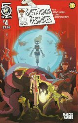 Action Lab Entertainment's Super Human Resources Issue # 4