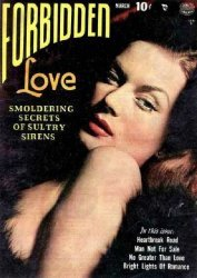Quality Comics Group's Forbidden Love Issue # 1