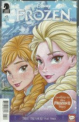 Dark Horse Comics's Disney Frozen: True Treasure Issue # 3b