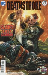 DC Comics's Deathstroke Issue # 20