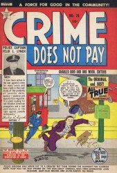 Lev Gleason Publications's Crime Does Not Pay Issue # 76b