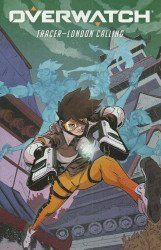 Dark Horse Comics's Overwatch: Tracer-London Calling Issue # 5b
