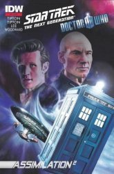 IDW Publishing's Star Trek: The Next Generation / Doctor Who: Assimilation2 Issue # 1c