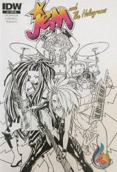 IDW Publishing's Jem and the Holograms Issue # 2c&p