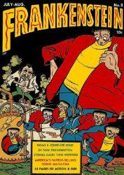 Prize Publications's Frankenstein  Issue # 3