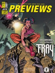 Diamond Comics Distribution's Previews Issue # 151