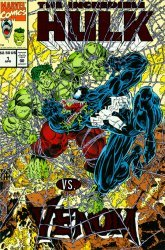 Marvel Comics's The Incredible Hulk vs Venom Issue # 1