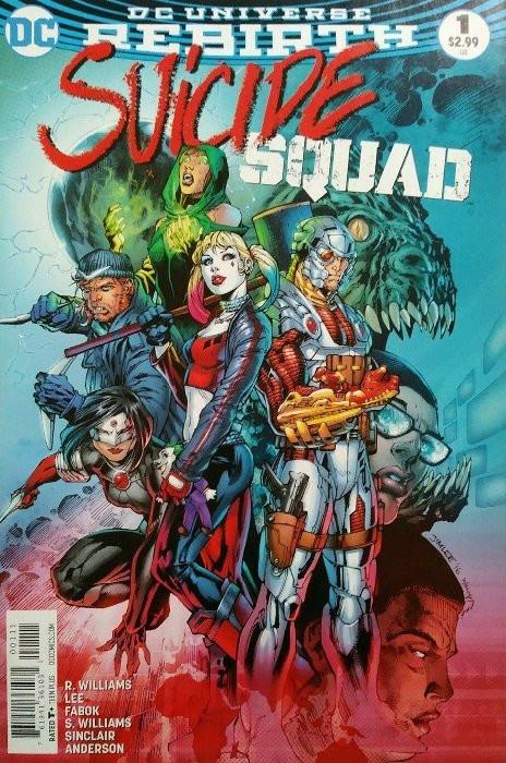Suicide Squad vol 1 #34 Vf 1st Print Dc Comics