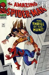 Marvel Comics's The Amazing Spider-Man Issue # 34