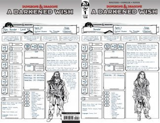 IDW Publishing's Dungeons & Dragons: A Darkened Wish Issue # 1b