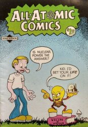 Educomics's All-Atomic Comics Issue # 1e