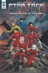 IDW Publishing's Star Trek: Boldly Go Issue # 8sub