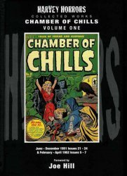 PS Artbooks's Harvey Horrors: Chamber Of Chills Hard Cover # 1