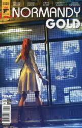 Titan Comics's Hard Case: Crime - Normandy Gold Issue # 4