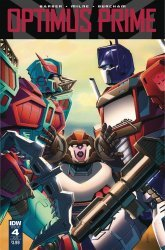 IDW Publishing's Optimus Prime Issue # 4sub