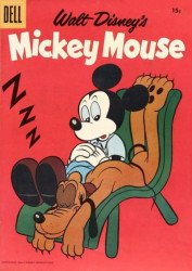 Dell Publishing Co.'s Mickey Mouse Issue # 60b