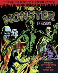 IDW Publishing's Jay Disbrow's Monster Invasion Hard Cover # 1