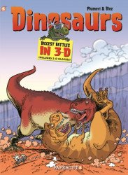 Papercutz's Dinosaurs Biggest Battles in 3-D Hard Cover # 1