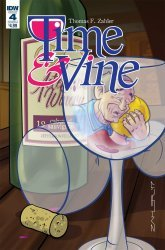 IDW Publishing's Time & Vine Issue # 4