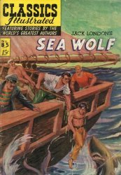 Gilberton Publications's Classics Illustrated #85: The Sea Wolf Issue # 1c