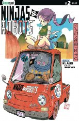 Keenspot Entertainment's Ninjas and Robots Issue # 2c