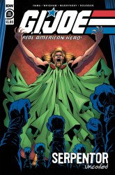IDW Publishing's G.I. Joe: A Real American Hero - Serpentor Uncoiled Issue # 1
