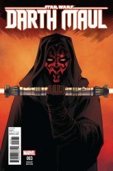 Marvel Comics's Darth Maul Issue # 3c
