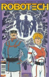 Titan Comics's Robotech Issue # 24c