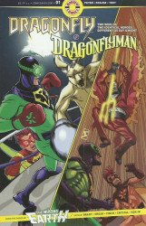 Ahoy Comics's Dragonfly & Dragonflyman Issue # 1