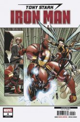 Marvel Comics's Tony Stark: Iron Man Issue # 4 - 2nd print