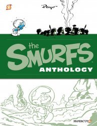 Papercutz's The Smurfs Anthology Hard Cover # 3