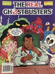 Marvel UK's The Real Ghostbusters Issue # 79
