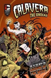 Insane Comics's Calavera The Undead Issue # 2