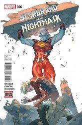 Marvel's Starbrand and Nightmask Issue # 6