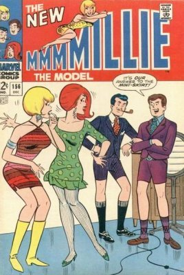 MILLIE THE MODEL 145  VG/FN 5.0  SILVER AGE MARVEL