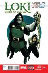 Marvel's Loki: Agent of Asgard Issue # 6