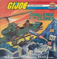 Kids Stuff Records & Tapes's G.I. Joe: Challenge of the Clones Issue DBR 209