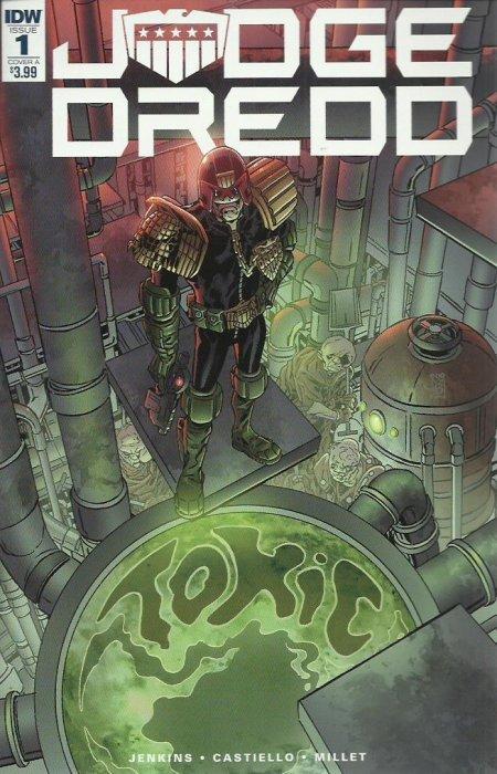 Other Modern Age Comics Comics Judge Dredd #7 Vf Nm 1st Print Idw Comics