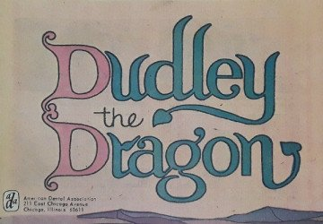 American Dental Association's Dudley the Dragon Issue G 45