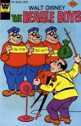 Gold Key's Beagle Boys Issue # 32whitman