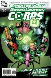 DC Comics's Green Lantern Corps Issue # 47