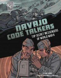 Capstone Press's Amazing World War II Stories: Navajo Code Talkers Soft Cover # 1