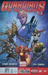 Marvel Comics's Guardians of the Galaxy Issue # 1b