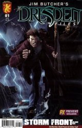 Dabel Brothers Productions's Jim Butcher's Dresden Files: Storm Front Issue # 1b
