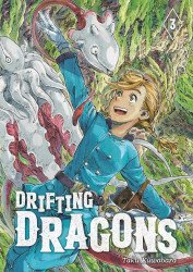 Kodansha Comics's Drifting Dragons Soft Cover # 3